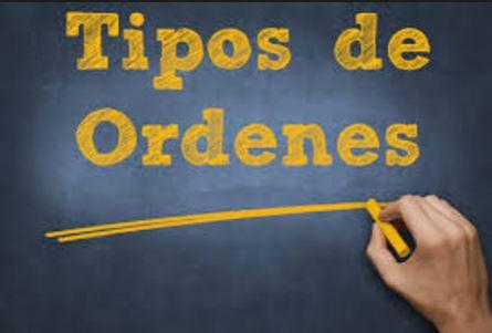 Tipos de ordenes II – Según su duración.