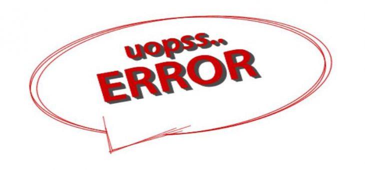 10 errores comunes en trading